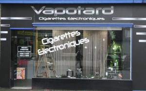 espace uniquement dédié à la cigarette électronique