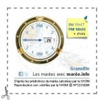 calendrier des marées GRANVILLE gratuit par vapotard